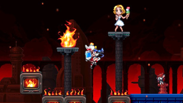 Mighty Switch Force 2 - 3DS - 2