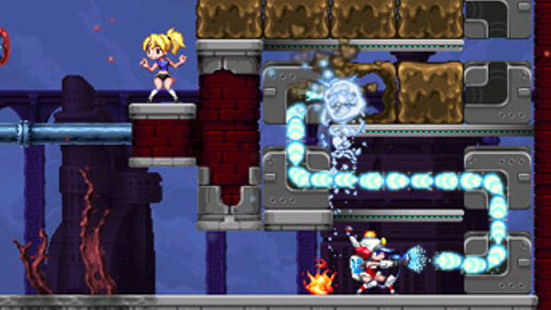 Mighty Switch Force 2 - 3DS - 3