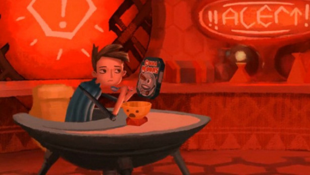 Double Fine Happy Action Theater Screenshot - Broken Age