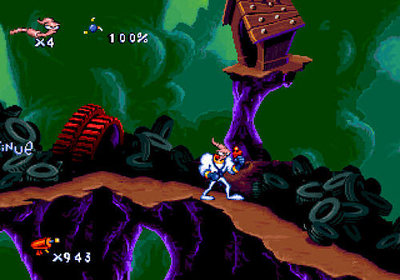 Earthworm Jim HD Screenshot - Earthworm Jim