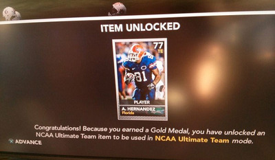 NCAA Football 14 Screenshot - Aaron Hernandez NCAA Football 14