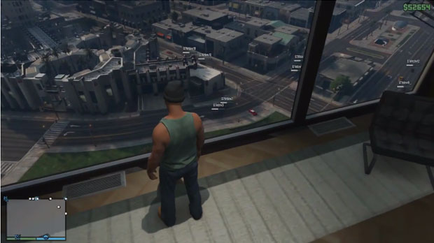All Star Auto >> Grand Theft Auto Online briefly teased in new GTA 5 ...