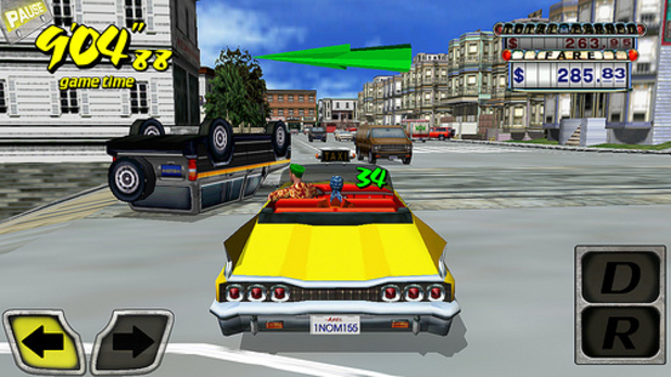 Crazy Taxi Screenshot - Crazy Taxi Android