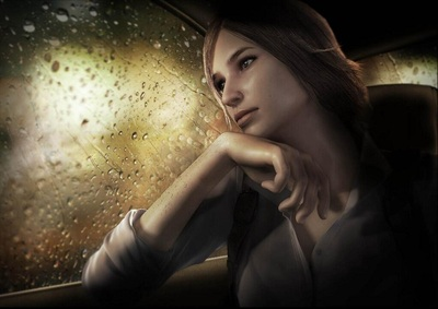 The Evil Within concept art female character