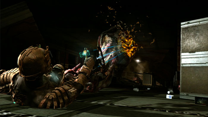 Dead Space tasteful QTE