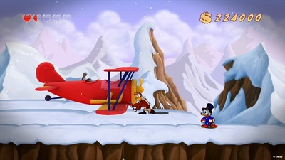 DuckTales Remastered Screenshot - DuckTales: Remastered Himilayas