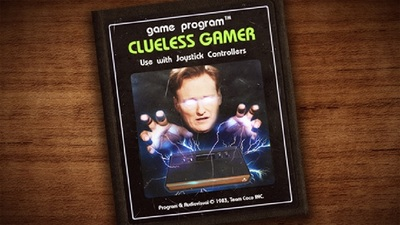 Gaming Culture Screenshot - conan o'brien clueless gamer atari