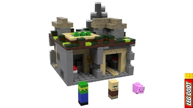 Minecraft Screenshot - LEGO Minecraft The Village