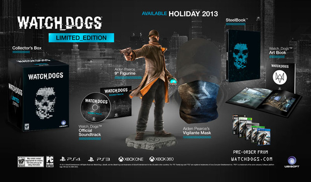 Watch Dogs Limited Edition bundle