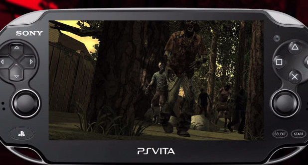 The Walking Dead on Vita