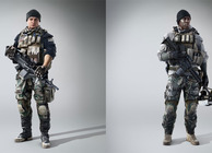 Battlefield 4 characters: Clayton Pakowski and Kimble Graves