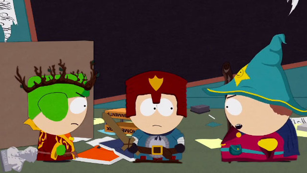South Park: The Stick of Truth Screenshot - Cartman vs Kyle