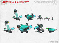 WildStar Mordesh equipment concept art