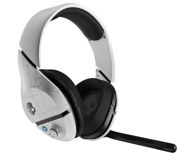 Skullcandy PLYR 1 wireless gaming headset white
