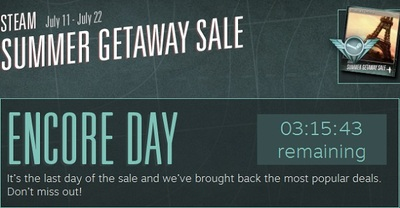 Steam Encore Day