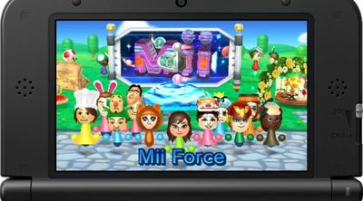 Nintendo 3DS Streetpass Titles Screenshot - Mii Force