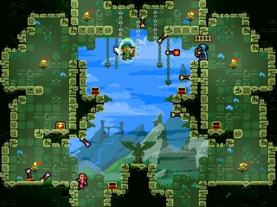 OUYA Screenshot - Towerfall