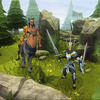 RuneScape 3 Screenshot - Centaur and Warrior