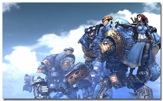 WARMACHINE Blue Side