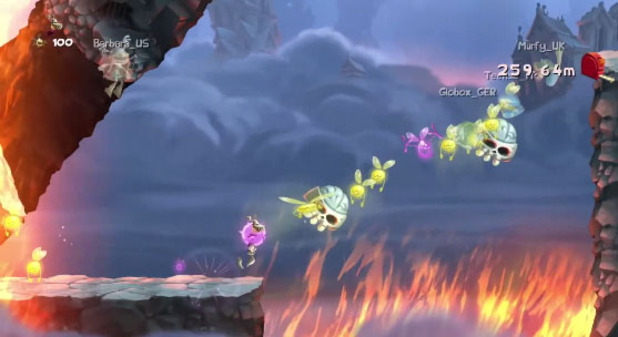 Rayman Legends Online Challenges App