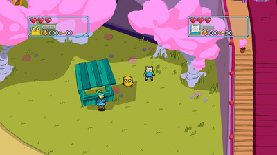 Adventure Time: Explore the Dungeon Because I Don't Know! Screenshot - Candy Kingdom