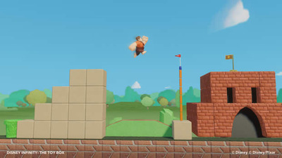 Disney Infinity Screenshot - Wreck-it Ralph Super Mario Bros. Level, Toy Box mode Disney Infinity