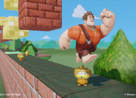 Disney Infinity toybox game making mario wreck it ralph
