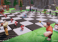 Disney Infinity toybox game making chess