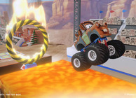 Disney Infinity toybox game making monster truck