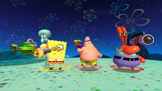 Screenshot - SpongeBob SquarePants: Plankston's Robotic Revenge