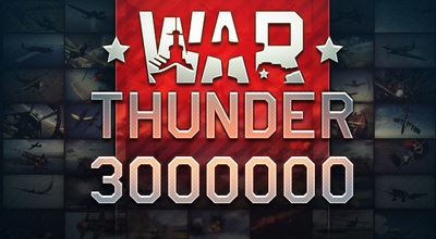 War Thunder 3 million players