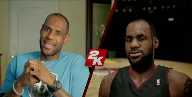 NBA 2K14 LeBron James