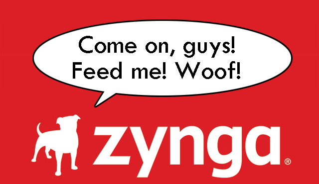 Even the Dog on Zynga's Logo Is Hungry