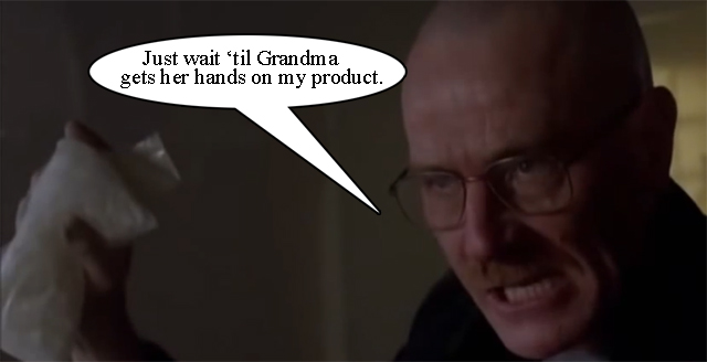 Walter White's Got the Goods