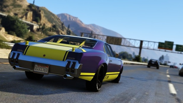 Grand Theft Auto V Screenshot - hot car