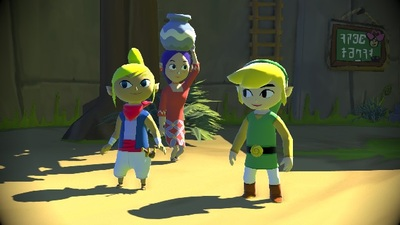 The Legend of Zelda: The Wind Waker Screenshot - the legend of zelda: the wind waker hd