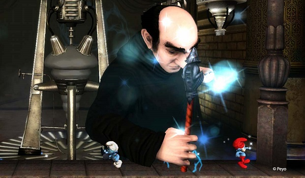 Gargamel boss fight