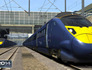 Train Simulator 2014 pulling into station in September Image