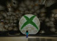 Xbox Logo in Minecraft