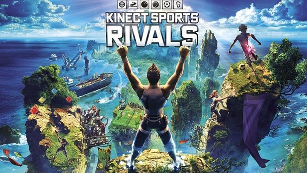 Kinect Sports Rivals Screenshot - Title screen