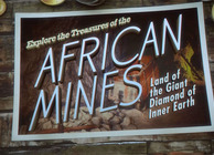 African Mines postcard