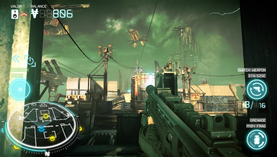Killzone Mercenary Vita screenshot
