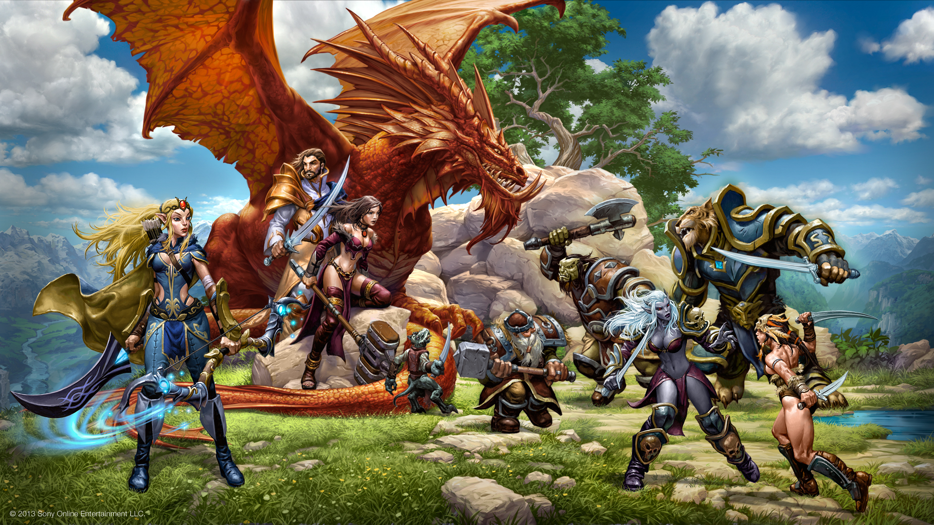 DAYBREAK GAMES UNVEILS NEXT EXPANSIONS FOR EVERQUEST AND