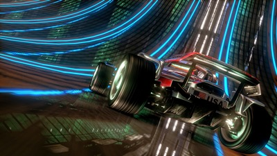 Trackmania 2 Stadium Screenshot - Up close vehicle