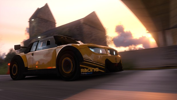 Trackmania 2 Valley Screenshot - Close up of car