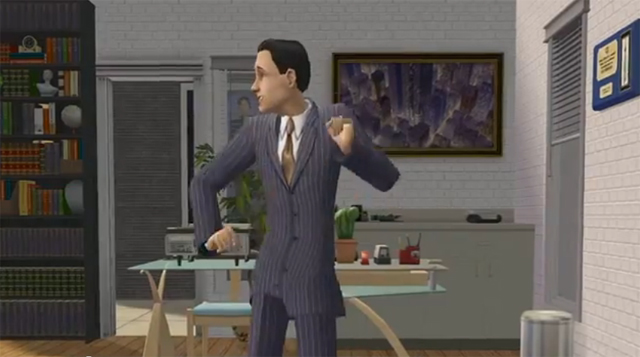 The Sims Dance Because They're Rich