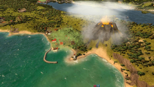 Rise of Venice volcano sea map