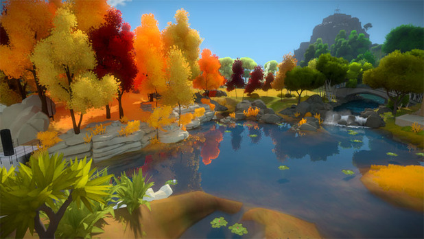 The Witness Screenshot - The Witness lake
