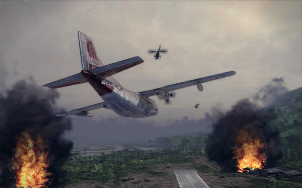 air conflicts: vietnam plane