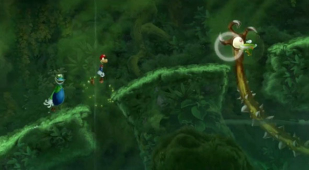 Rayman Legends Screenshot - Mario and Luigi costumes for Rayman legends Wii U